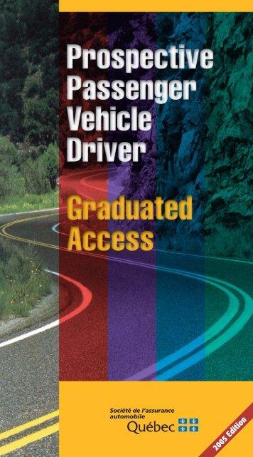 Prospective Passenger Vehicle Driver - Bibliothèque