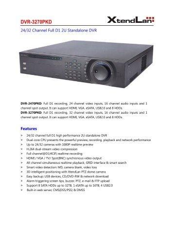 DVR-3270PKD