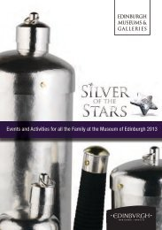 Silver of the Stars events and activities 2013 - Edinburgh Museums
