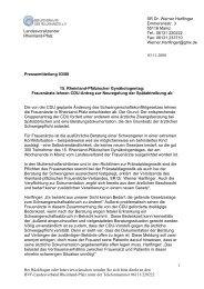 """Einladung zum Seminar """"Ärztliche Kooperationsformen"""""""