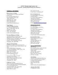 ANSTF Membership Contact List FEDERAL MEMBERS - Aquatic ...