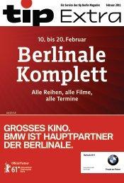 Berlinale Komplett - Tip Berlin