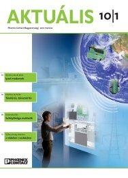 Aktuális magazin 10/1 (PDF 0,83 MB) - PHOENIX CONTACT ...