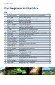 Naturparke Niederösterreich Sommerprogramm 2013 - Page 6