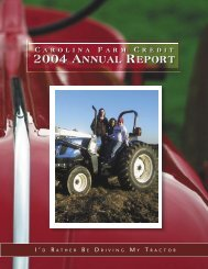 2004 Report - Carolina Farm Credit