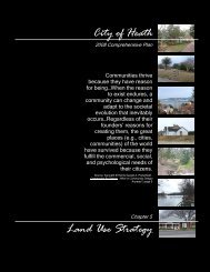 Chapter 5 - City of Heath, Texas