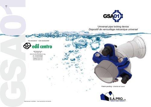 Dispositif de verrouillage mécanique universel - Watergas