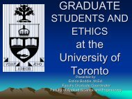 Research Ethics Presentation – Resources - Engineering Graduate ...