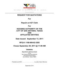 REQUEST FOR QUOTATIONS For Repairs at 427 Clark For ...