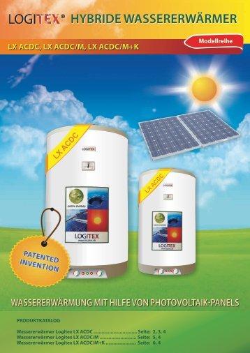 HYBRIDE WASSERERWÄRMER - hybrid water heaters