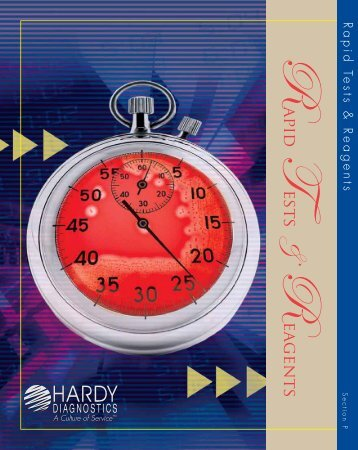 Rapid Tests & Reagents - by Hardy Diagnostics