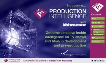 Production Intelligence_MP2013