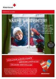 Midvinter kampanjbrev 2013 - RedNet