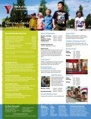 Ches Penney Family Y Program Guide Summer 2013 - the YMCA of ...