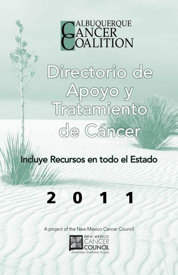 Directorio de Apoyo y Tratamiento de Cáncer - UNM Cancer Center