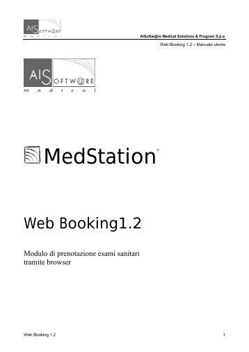 Gestione Prenotazioni Web - Policlinico di Catania
