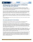 Utilizing Real-Time Information in Enterprise Asset Management ... - Page 2
