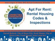 Apt For Rent: Rental Housing Codes and Inspections