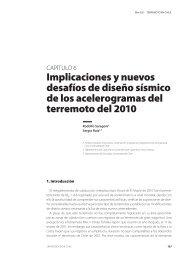 Implicaciones y nuevos desafíos de diseño sísmico de los ...