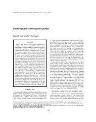 Geophysics, 64, 1748-1755, 1999. - Satellite Geodesy at the Scripps ...