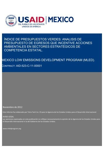 IPV Informe Final (USAID) - Instituto Mexicano para la ...