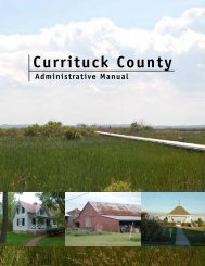 Administrative Adjustment - Currituck County Government