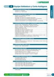 Equipo Soldadura y Corte Autógena 2 - Praxair