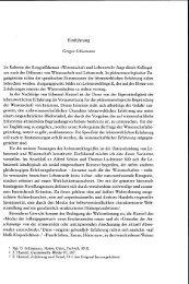 Phänomenologie der Lebenswelt: Dimensionen ... - Philosophie