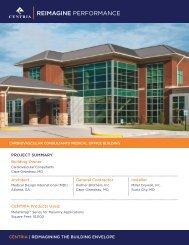 Cardiovascular Consultants Medical Office Building - CENTRIA