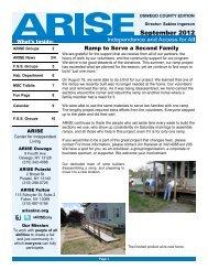 Oswego County September 2012 Edition (PDF format - 1.48 ... - Arise