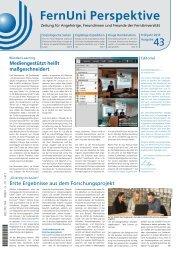 pdf, 0,8 MB - FernUniversität in Hagen