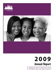 CityMatCH 2009 Annual Report