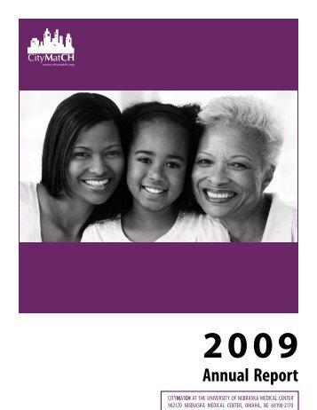 CityMatCH 2009 Annual Report