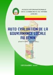 Rapport Auto-Evaluation - Association Nationale des Communes du ...