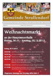 Es weihnachtet im MGH! - Strullendorf