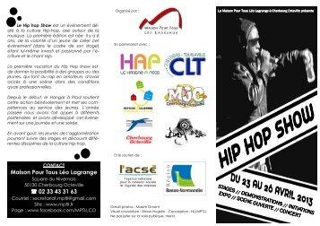 Le programme du Hip Hop show - Cherbourg-Octeville