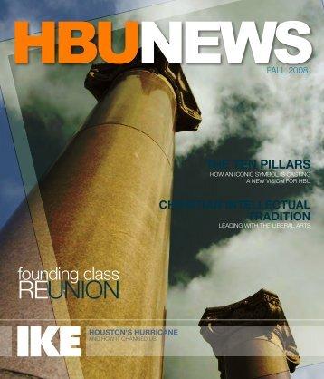 Volume 46, #1 - November 2008 - Houston Baptist University