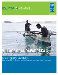 village of andavadoaka - The GEF Small Grants Programme - United ...