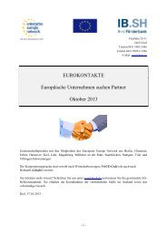 Eurokontakte Oktober 2013