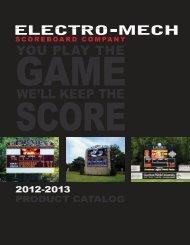 Scoreboards - SportsEdge