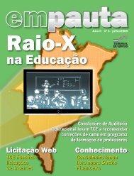 Revista em Pauta Ano II n° 3 julho/2009 - Tce.ma.gov.br