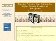 160: Higher Density Siting Paper - State of Rhode Island: Division of ...