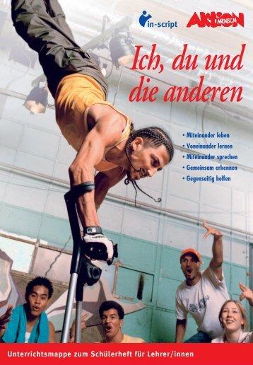 Unterrichtsmappe zum Schülerheft für Lehrer/innen - respect.de