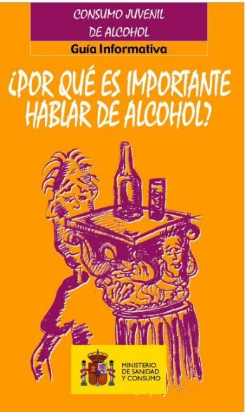 ALCOHOL .pdf - Ministerio de Sanidad, Servicios Sociales e Igualdad