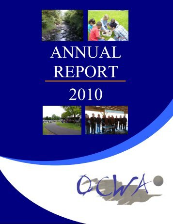 ANNUAL REPORT 2010 - Orange County Water Authority