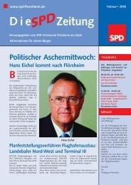 Februar 2005 - SPD Main-Taunus
