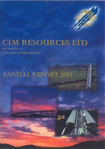 CIM RESOURCES LTD A