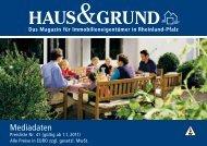 Mediadaten - Haus & Grund Rheinland-Pfalz