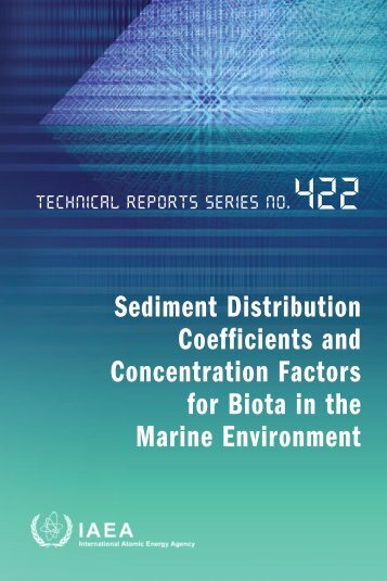 Sediment Distribution Coefficients and Concentration Factors for ...