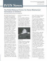 IVUN News (Fall 2001, Vol. 15, No. 3) - Polio Place